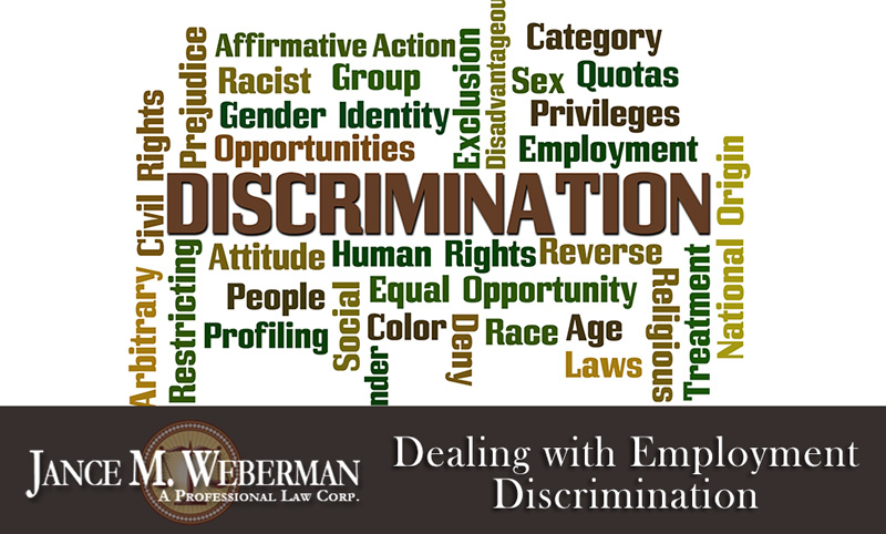 Dealing with Employment Discrimination