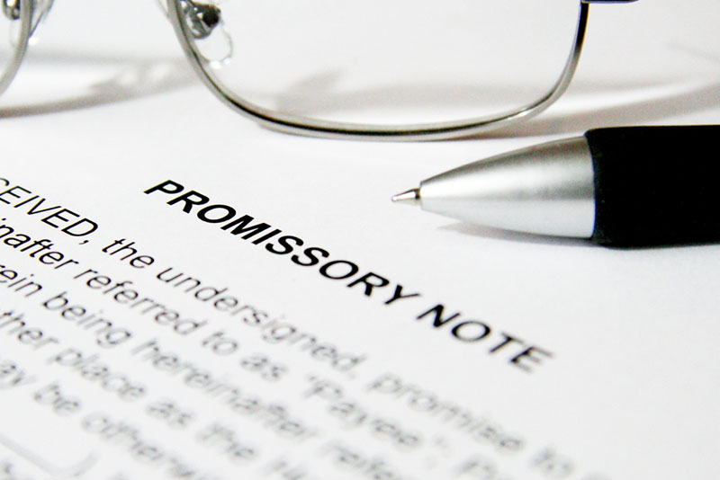 Secure Loans with a Promissory Note